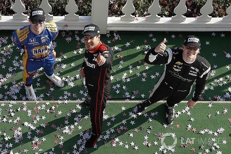 IndyCar in Pocono: Will Power siegt nach Rundenrückstand