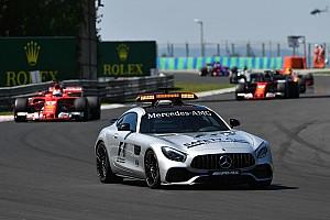 La F1 se plantea el safety car sin conductor en el futuro