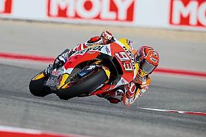 MotoGP Breaking news Marquez: Yamaha has edge on Honda over Austin bumps
