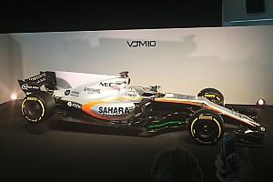 Formule 1 Nieuws Force India ontsluiert Formule 1-bolide voor 2017 op Silverstone