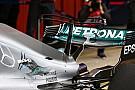 """F1 【F1】バルセロナテスト:メルセデス、""""ダブルTウイング""""をテスト"""