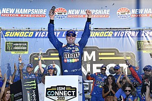 NASCAR Cup Race report Kyle Busch wins at NHMS, locking himself into next playoff round