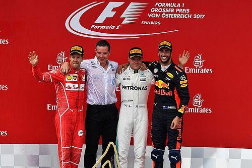 Alle Formel-1-Sieger des GP Österreich in Spielberg seit 2000