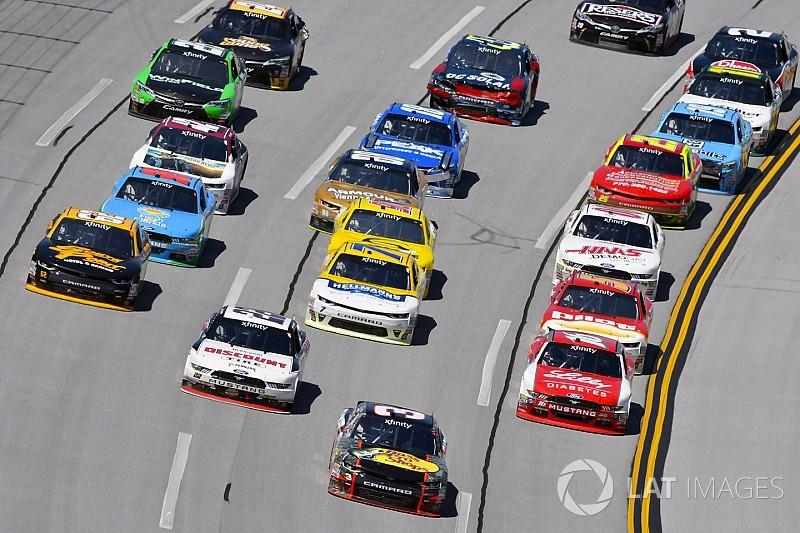 NASCAR da a conocer horarios de la temporada 2018 de  Xfinity
