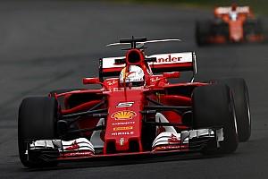 Australian GP: Vettel fastest in FP3 as Stroll shunts