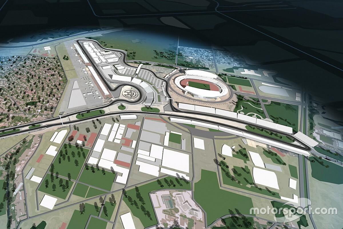 F1 reveals 2020 Vietnam GP track map