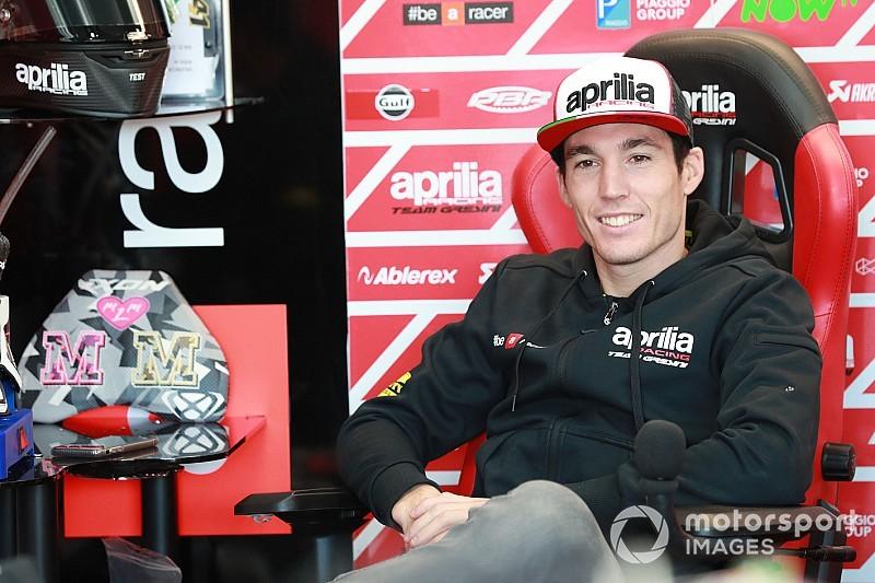 Aprilia: niente test di Jerez per Aleix Espargaro, bloccato dalla gastroenterite