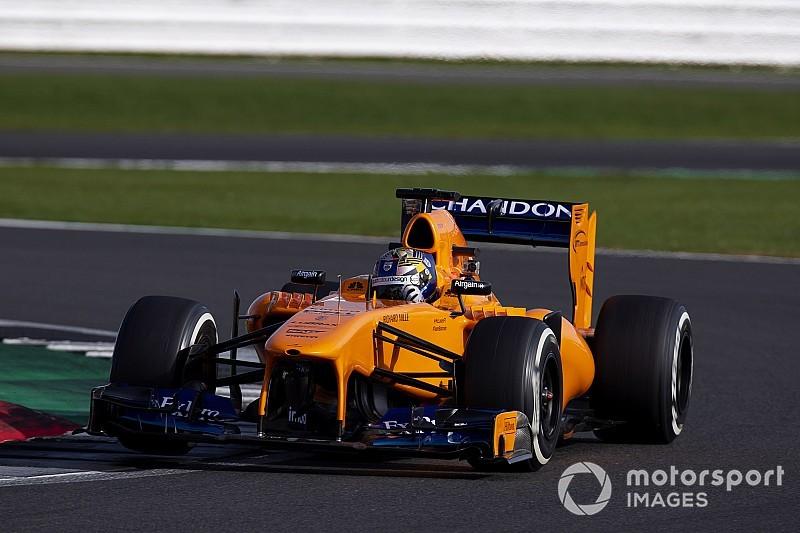 Тіктем завершив призові тести McLaren Ф1 у Сільверстоуні