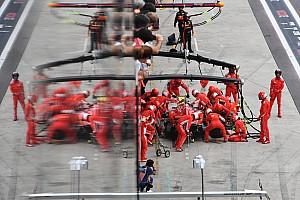 2018'in en hızlı pit stopunu Ferrari yaptı