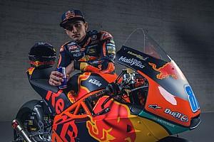 Martín, el campeón de Moto3 español, muestra sus nuevos colores de guerra