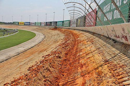 Konfigurasi Ulang Atlanta Motor Speedway Sedang Berlangsung