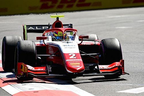 Formule 2-klassementsleider Piastri pakt derde pole op rij in Sochi