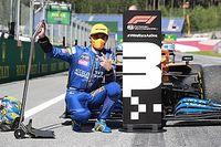 Норрис потеряет три места на решетке Гран При Штирии