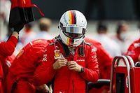 """Vettel: """"Beffato dal cordolo e da una strategia sbagliata!"""""""