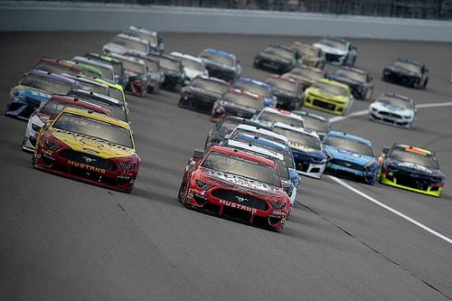 Kansas NASCAR Cup Series complete race results