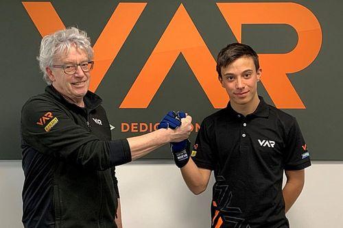 Formula Regional: il team VAR promuove Francesco Pizzi