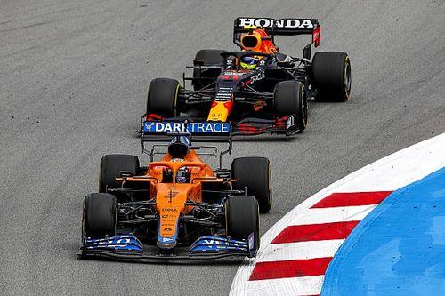 Cómo Sergio Pérez contribuyó a la victoria de Hamilton en España