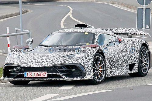 Latest Mercedes-AMG One spy shots