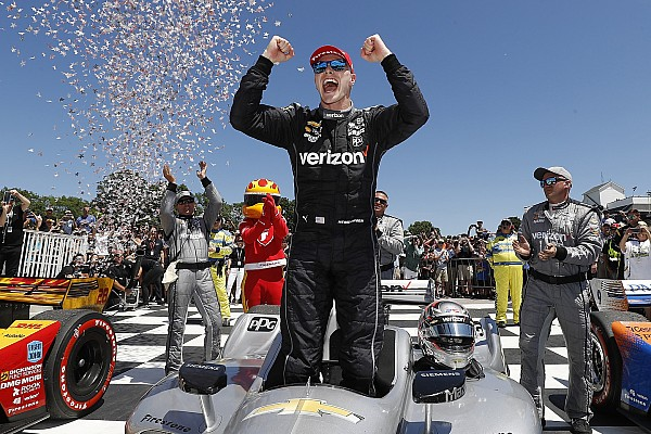IndyCar Race report Road America IndyCar: Newgarden wins, Power and Rossi hit trouble