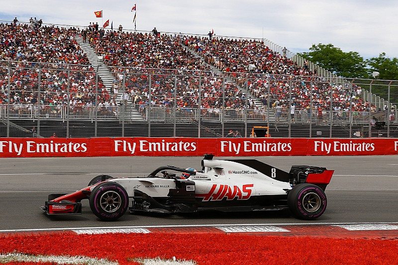 Grosjean, Haas'ın yeni güncellemeleriyle araçta daha rahat hissediyor