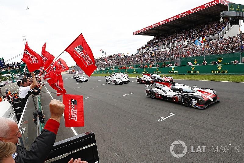 大願成就! 8号車トヨタ、前年の周回数を大幅に上回りル・マン初優勝