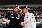 Formel 1 Max Verstappen: Ich brauche keinen Psychiater