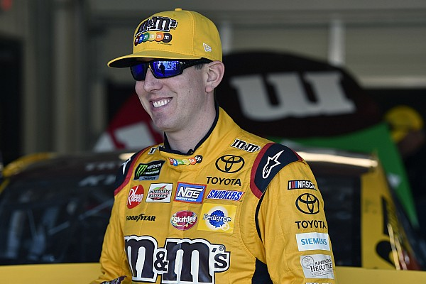 Points leader Kyle Busch: Kevin Harvick has the edge