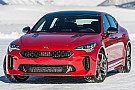 Automotive Driving – and sliding – Kia's racy Stinger GT on ice