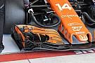 McLaren: ecco l'ala anteriore di Alonso con tanti soffiaggi in più