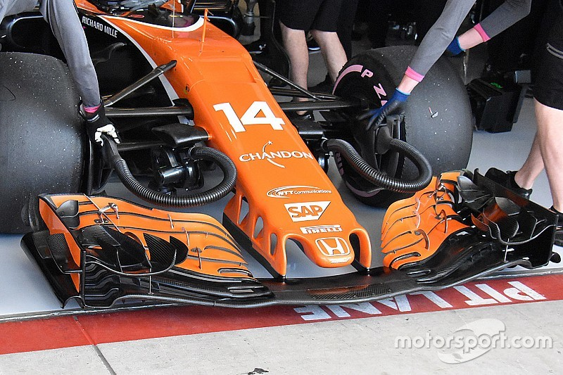 Technique - Déception pour McLaren malgré les nouveautés