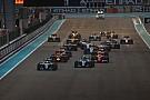 Formule 1 Le programme TV du Grand Prix d'Abu Dhabi