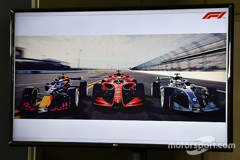 Formule 1 laat drie concepten zien voor 2021 en verder