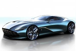 Aston Martin презентував дизайн нового DBS GT Zagato