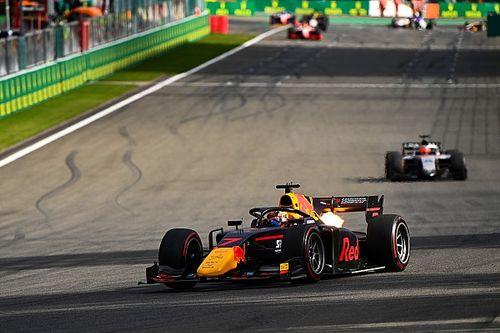 Spa F2: Tsunoda wins feature race after Mazepin penalty