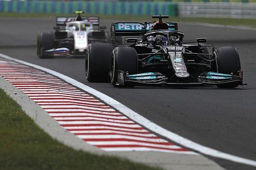 Wolff assume la décision d'avoir laissé Hamilton en piste au restart