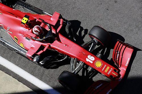 Ferrari всех переплюнула. Даже сложности с шинами у нее особенные