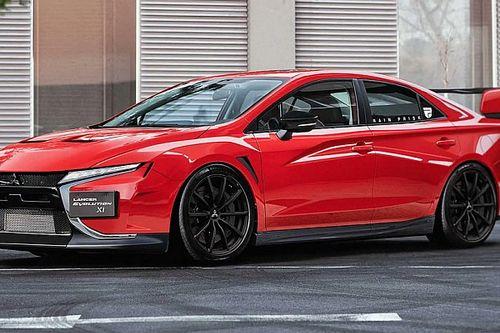 Nem sok esély van rá, de jó lenne, ha a Mitsubishi előrukkolna egy ilyen Lancer Evóval