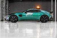 Aston Martin dévoile la nouvelle voiture de sécurité de la F1