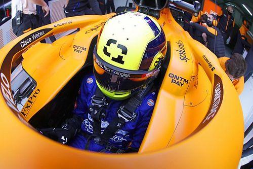 El mensaje que Hamilton mandó a Norris tras la clasificación en Imola
