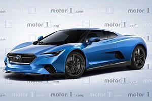 Mid-engine Subaru render has us hoping the rumours are true