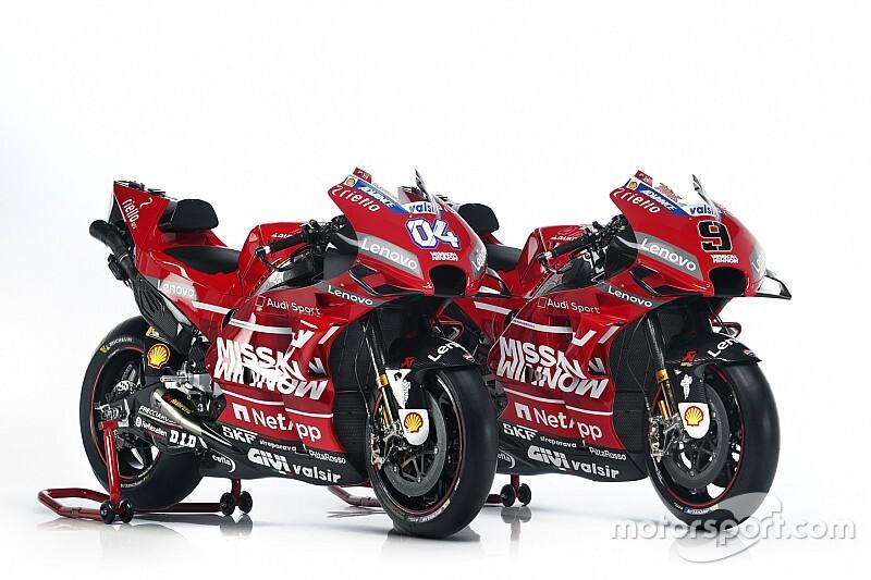 Ducati toont nieuwe livery voor MotoGP-seizoen 2019