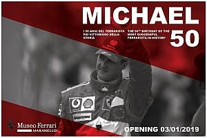 Ferrari abrirá una exposición dedicada a Schumacher el día de su 50º cumpleaños