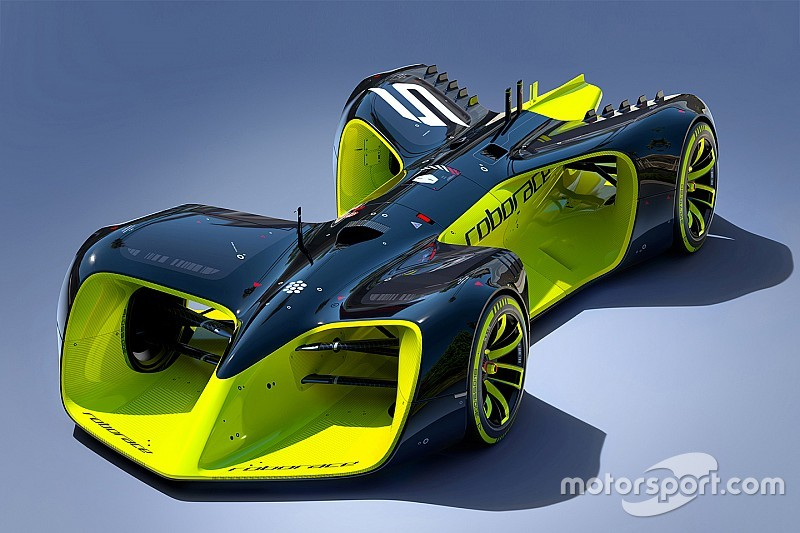 Roborace reveals driver-less concept car for new racing series