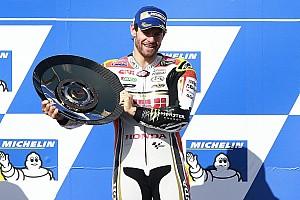 MotoGP Race report Australian MotoGP: Crutchlow beats Rossi as Marquez crashes out