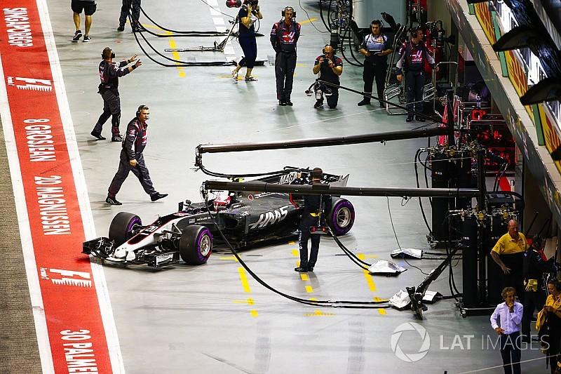 В Haasобъяснили проблемы с темпом в Сингапуре