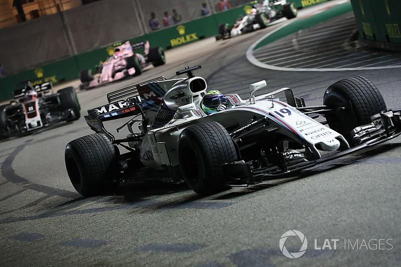 La columna de Massa: 'Vettel fue muy enérgico en la salida de Singapur'