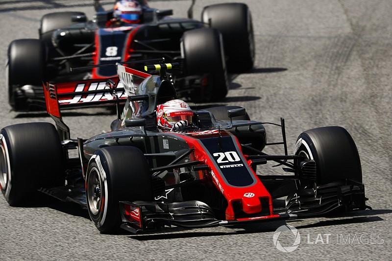 """Magnussen: """"Grosjean es más rápido que Button en su momento"""""""