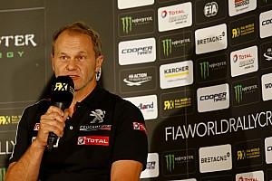 Rallycross-WM News WRX 2018: Peugeot hält an Kenneth Hansen fest
