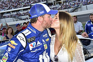 NASCAR Cup Breaking news Dale Earnhardt Jr. and wife Amy expecting first child