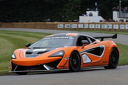 McLaren 570S Spider'ın Goodwood lansmanı